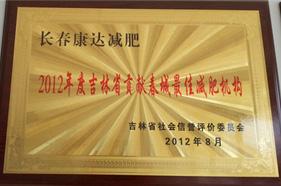 吉林省贡献出城最佳减肥机构