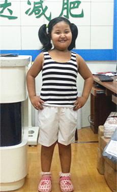 114斤女童在长春减肥成功 瘦身后爱自拍了