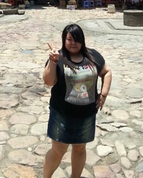 湘妹子李伟胖时