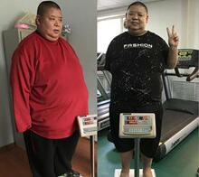 前柔道冠军孙洪涛到长春康达减肥,两个月瘦了88斤