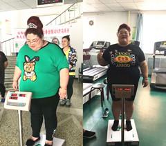 迁安胖姐在长春康达减肥五天瘦身15斤