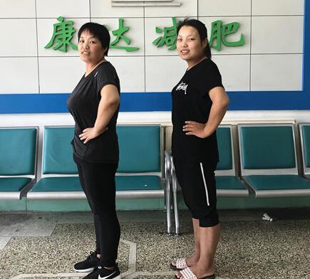 290斤胖妈怒减142斤 和女儿同框似姐妹