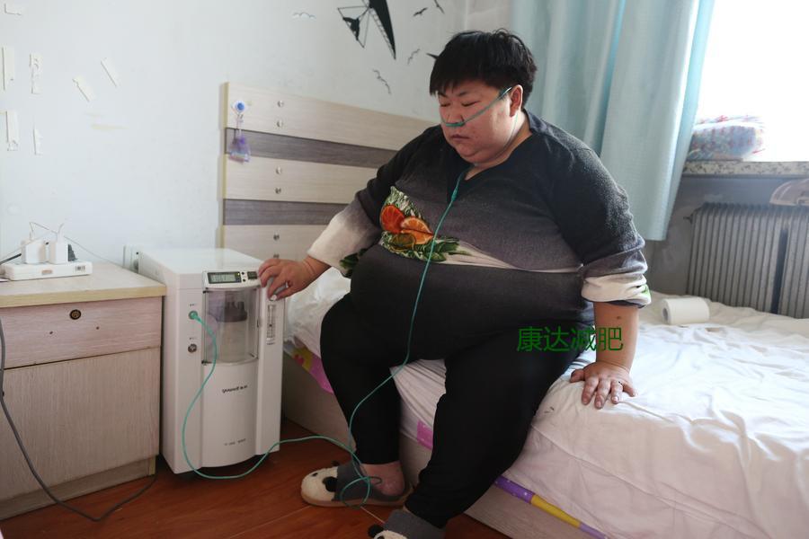 离开体校后体重剧增,她为保命到长春康达医院减肥