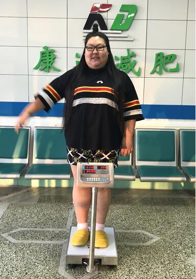 演员陈丹娜为转型来长春减肥,26天瘦了26斤