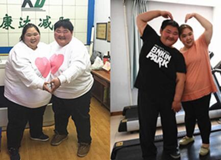 800斤夫妻每天就像照镜子,为生娃在康